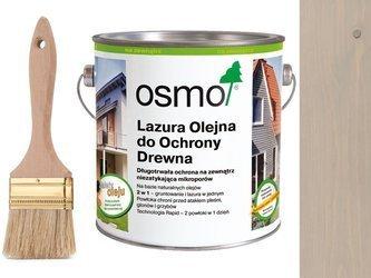 OSMO 906 Lazura Ochronna do drewna SZARY 750ml