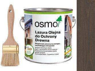 OSMO 907 Lazura Ochronna do drewna SZARY 2,5L