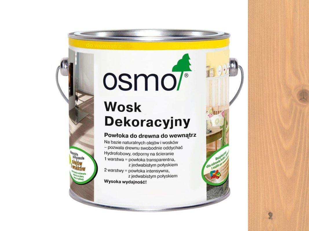 OSMO 3102 wosk dekoracyjny BUK LEKKO PARZONY 125ml