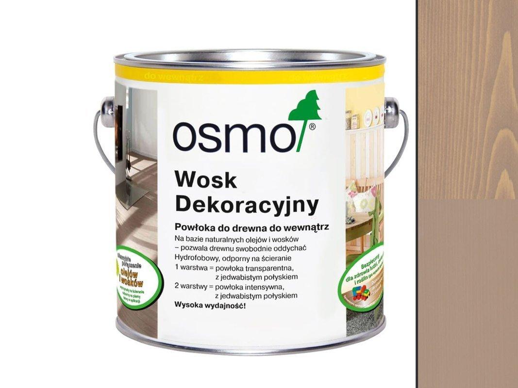 OSMO 3132  wosk dekoracyjny IRCHOWO SZARY 0,125L