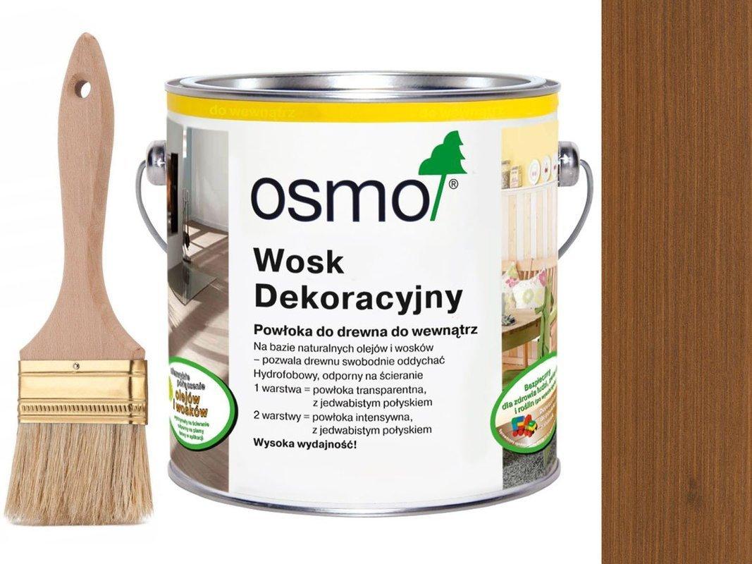 OSMO 3143 wosk dekoracyjny KOLOR KONIAK 2,5L
