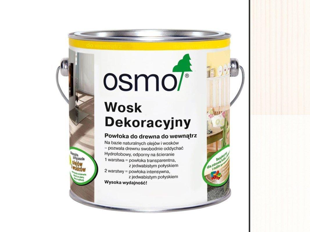 OSMO 3186 wosk dekoracyjny MATOWA BIEL 0,125L