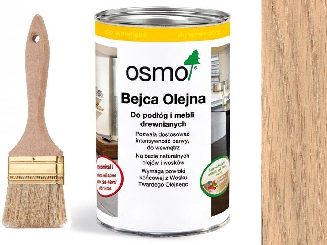 OSMO 3519 Bejca Olejna podłogi SUROWE DREWNO 0,5L