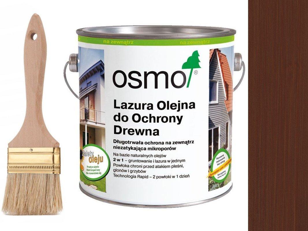 OSMO 703 Lazura Ochronna do drewna MAHOŃ 25L