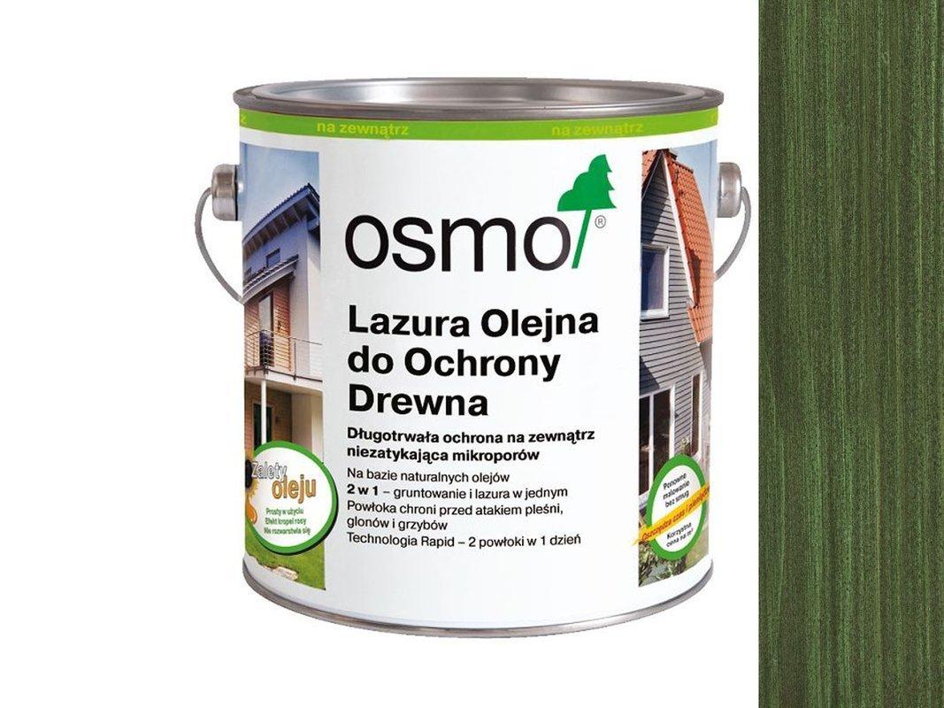 OSMO 729 Lazura Ochronna do drewna ZIELONY 0,125L