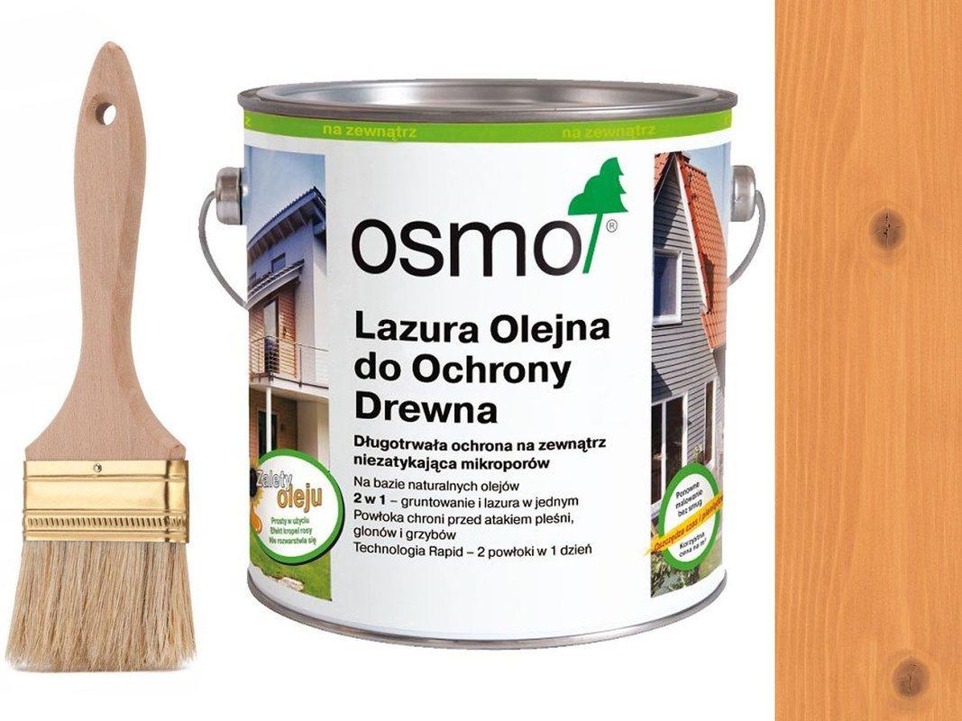 OSMO 731 Lazura Ochronna do drewna DAGLEZJA 25L