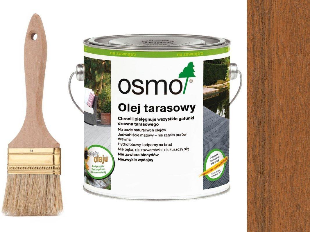 OSMO Olej do Tarasów 006 BANGKIRAI 0,75L + GRATIS